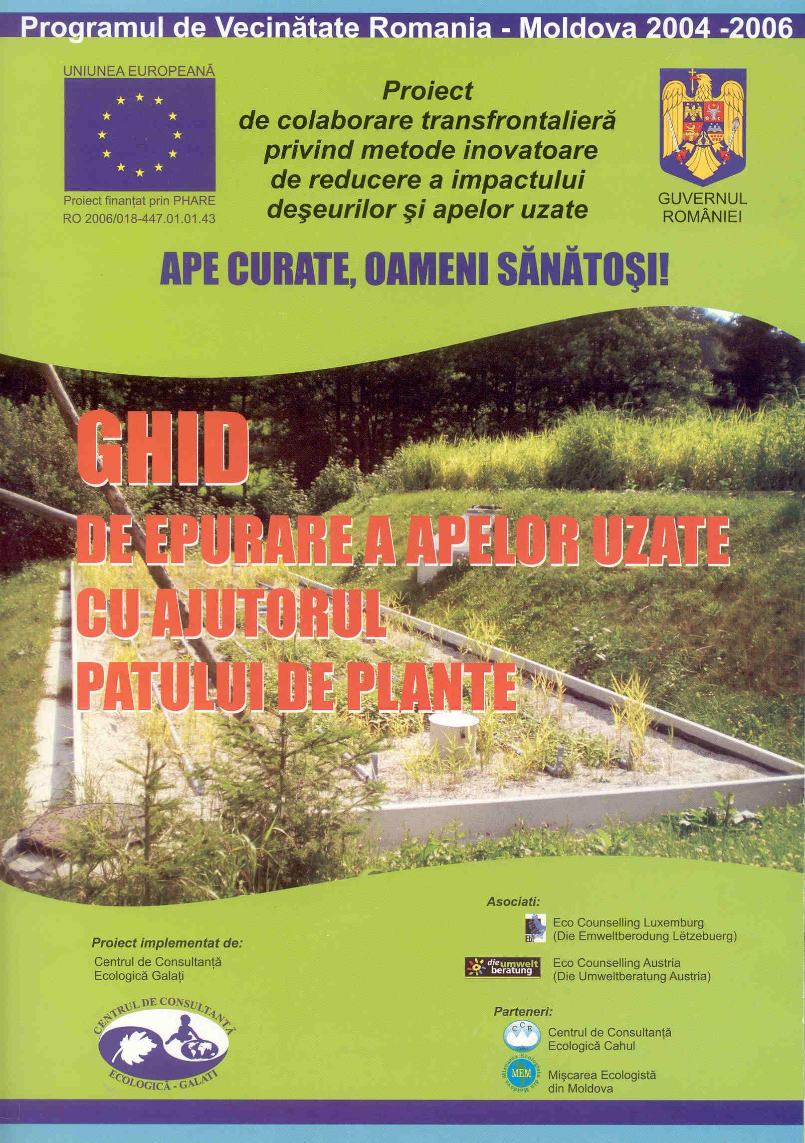 Ghid de epurare a apelor uzate cu ajutorul patului de plante (1)