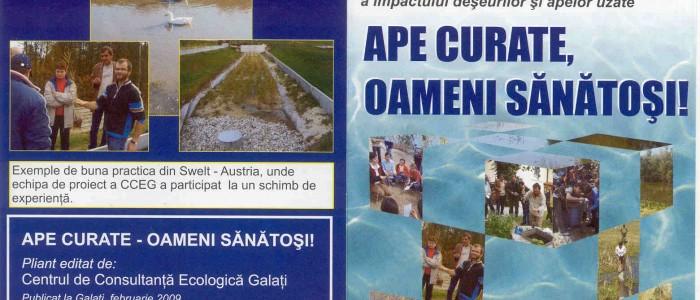 proiect ape curate oameni sanatosi