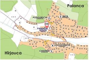CASA PARINTEASCA- traseu